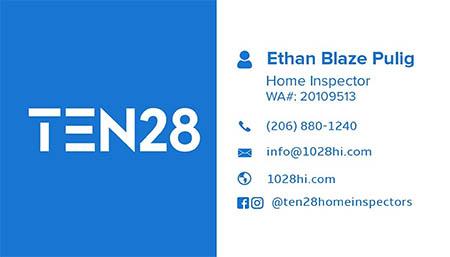 Ethan Blaze Pulig SOPHI Certified Home Inspector 206-880-1240
