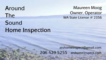 Maureen Moog SOPHI Certified Home Inspector 206-429-5255