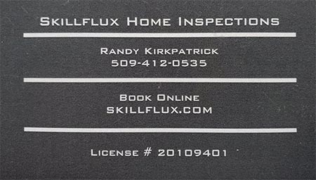 Randy Kirkpatrick SOPHI Certified Home Inspector 509-412-0535
