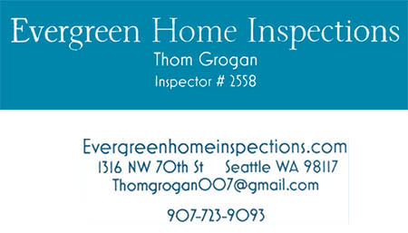 Thom Grogan SOPHI Certified Home Inspector 907-723-9093