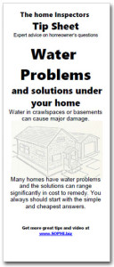 Download the brochure on water problems under homes